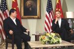 President Obama och President Xi har talat om hur  stornationerna kan minska sina utsläpp.